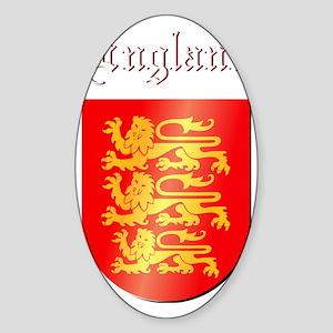 England COA  w Sticker (Oval)
