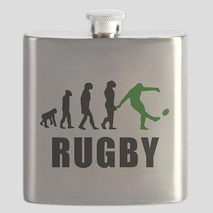 Rugby Kick Evolution (Green) Flask