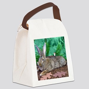Fezzik in the Woods-2-Full Canvas Lunch Bag