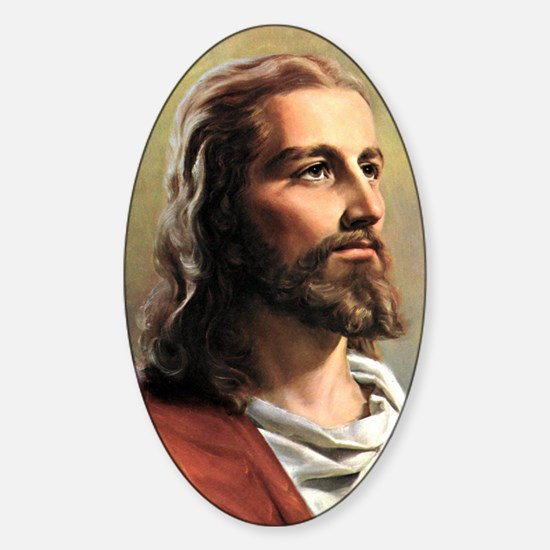 Jesus Sticker (Oval)