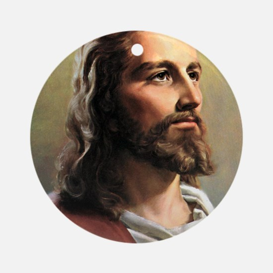 Jesus Round Ornament