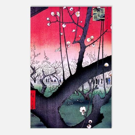 Hiroshige Kameido Postcards (Package of 8)