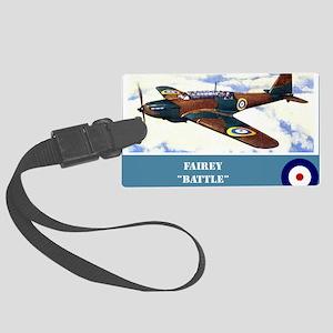 Fairey Battle Large Luggage Tag