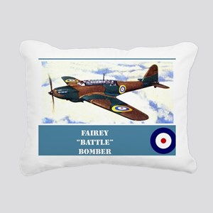 Fairey Battle Rectangular Canvas Pillow