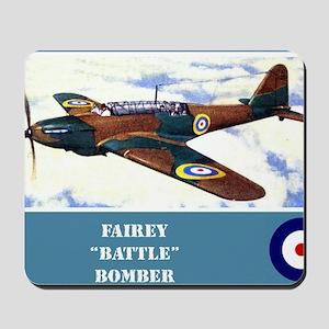 Fairey Battle Mousepad