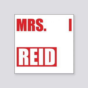"CMmrsReid1B Square Sticker 3"" x 3"""
