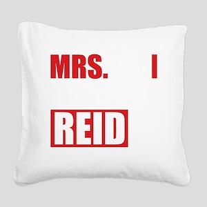 CMmrsReid1B Square Canvas Pillow