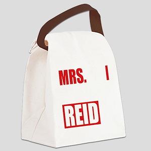 CMmrsReid1B Canvas Lunch Bag