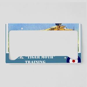 De Havilland Tiger Moth License Plate Holder