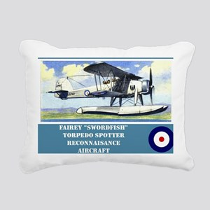 Fairey Swordfish Rectangular Canvas Pillow