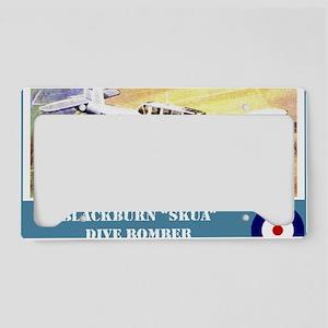 Blackburn Skua License Plate Holder