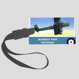 Handley Page Heyford Large Luggage Tag