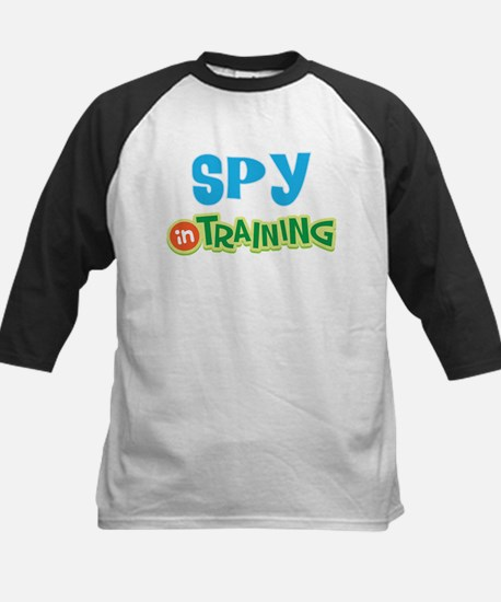Spy in Training Kids Baseball Jersey