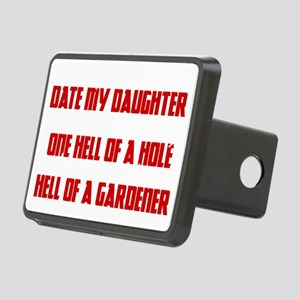 Date Hole Rectangular Hitch Cover