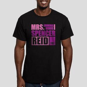 CMmrsReid1E Men's Fitted T-Shirt (dark)