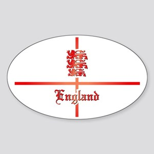 England - Coat of Arms Sticker (Oval)