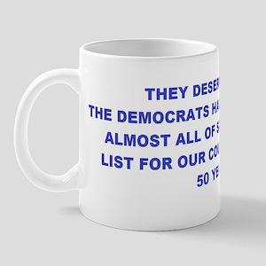 Satans Bucket List H BS Mug