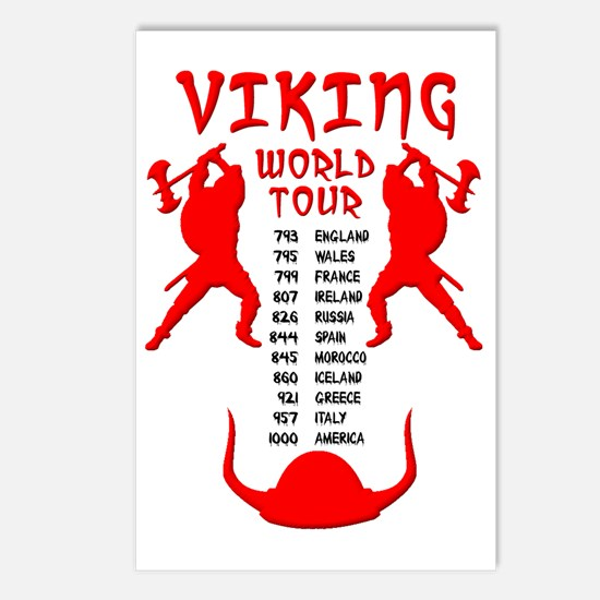 Viking World Tour Funny N Postcards (Package of 8)