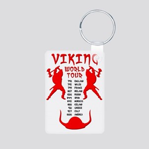 Viking World Tour Funny No Aluminum Photo Keychain