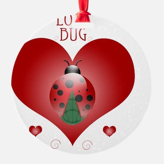 Love Bug - Lady Bug Ornament