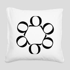 LEAN/Six Sigma Square Canvas Pillow