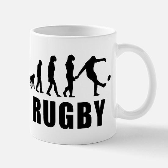 Rugby Kick Evolution Mugs