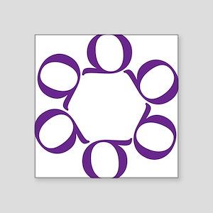 "LEAN/Six Sigma Square Sticker 3"" x 3"""