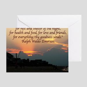 Emerson10 Greeting Card