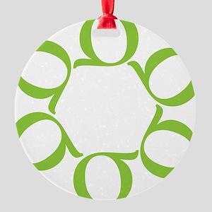 LEAN/Six Sigma Round Ornament