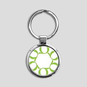 LEAN/Six Sigma Round Keychain