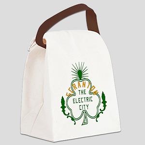 Scranton Electric City Shamrock Canvas Lunch Bag