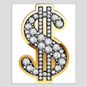 Gold Dollar Rich Posters