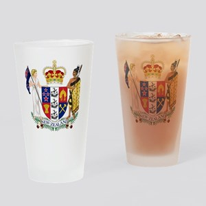 Coat of Arms of New Zealand Drinking Glass