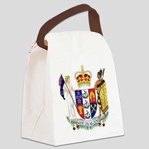 Coat of Arms of New Zealand Canvas Lunch Bag