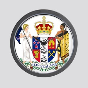Coat of Arms of New Zealand Wall Clock
