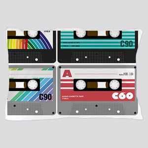 Audio Cassette Tapes Pillow Case