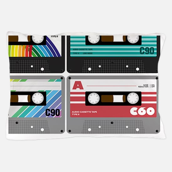Audio Cassette Tapes Pillow Case