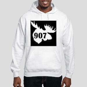 907_Moosehead_Black Hooded Sweatshirt