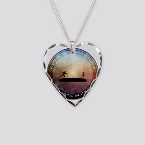 Putt Plastic In Its Place Necklace Heart Charm
