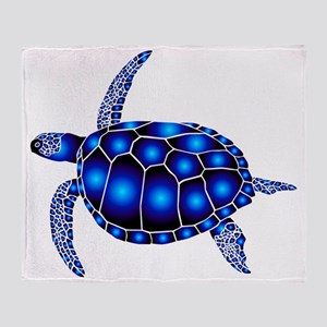 sea turtle ocean marine beach endang Throw Blanket