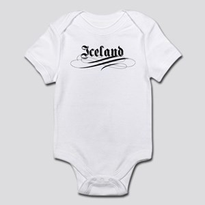 Iceland Gothic Infant Bodysuit