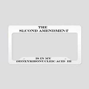 2A DNA License Plate Holder
