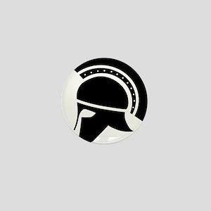Greek Art - Helmet Mini Button