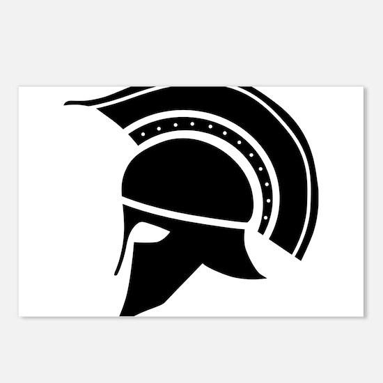 Greek Art - Helmet Postcards (Package of 8)