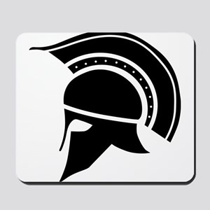 Greek Art - Helmet Mousepad