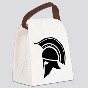 Greek Art - Helmet Canvas Lunch Bag