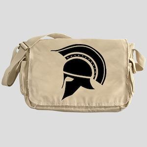 Greek Art - Helmet Messenger Bag