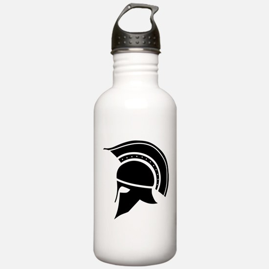 Greek Art - Helmet Water Bottle