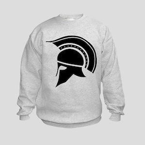 Greek Art - Helmet Sweatshirt