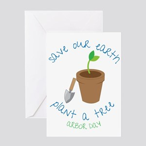 Save Our Earth Greeting Card